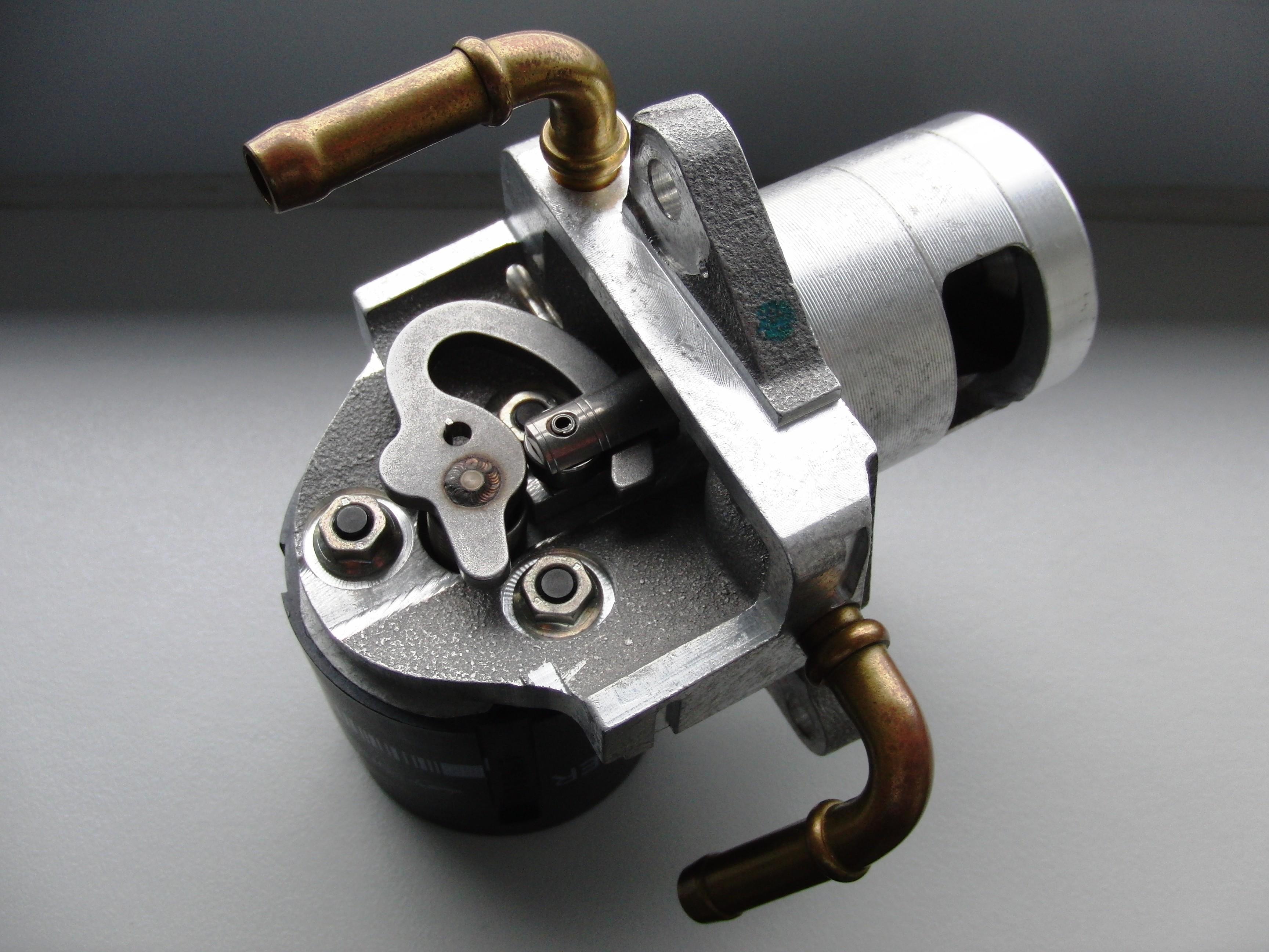 Baugruppenmontage, am Beispiel einer Montage eines AGR Ventils für die Automotive Industrie.