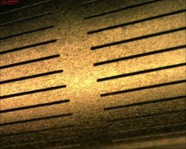 Feinfilter Laserfeinschneiden mit Faserlaser TruFiber 400 Schlitzbreite 50 µm 0,05mm Detail 2
