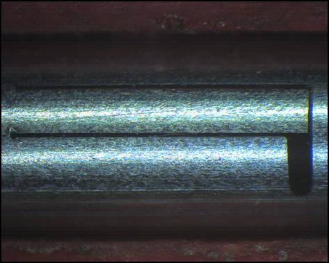 Laserfeinschneiden Präzisionsrohr Edelstahl 1.4404
