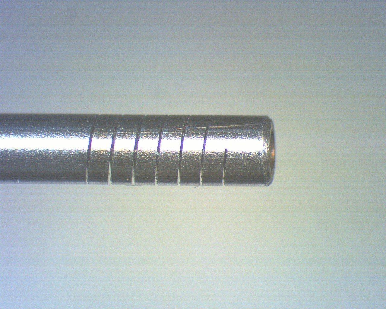 Laser Feinschneiden Spaltbreite 50 μ