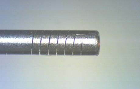 Laserfeinschneiden Rohrspirale mit Faserlaser TruFiber 400 und Spaltbreite 50 µm