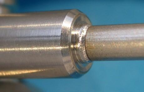 radiale Kehlnaht für ein Endoskop Fuhrungsrohr V4A