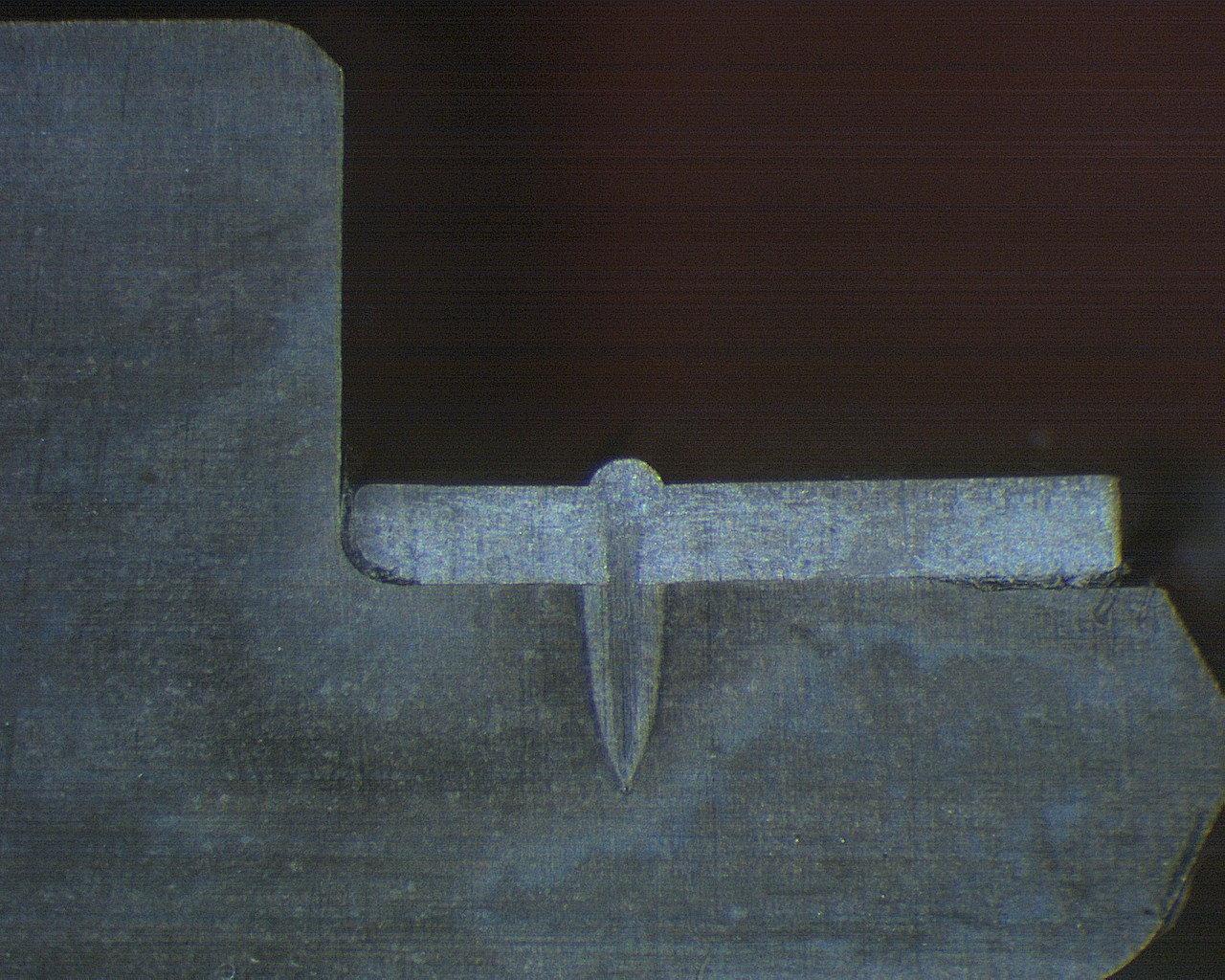 Schliffbild Schweißnaht mit Faserlaser TruFiber 400