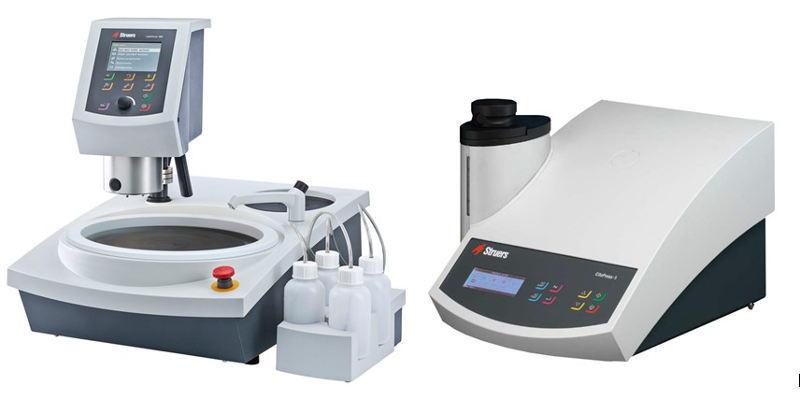 Qualitätsmanagement Häberle Laser- u. Feinwerktechnik mit Schliffbildanalyse über Struer Laboranlagen