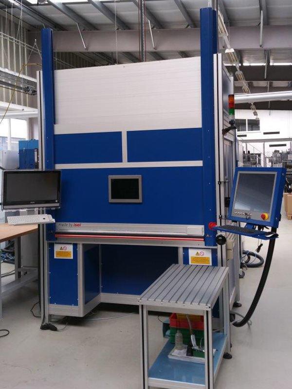 News zwei neue 5 Achs Laserschweißanlagen von ISEL