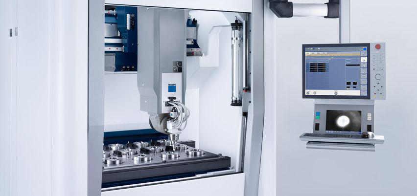 Laserbearbeitungszentrum Trumpf TrueLaser Cell 3000 - Direkte Posionierungsmessung der XY Achse