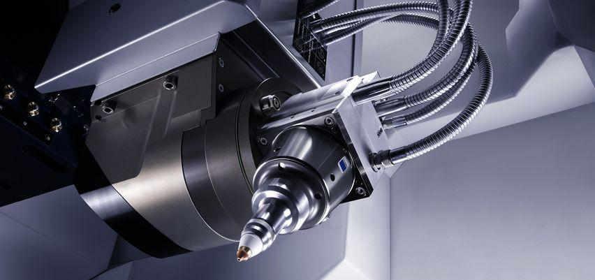 Laserbearbeitungszentrum Trumpf TrueLaser Cell-3000 FocusLine Professional Optiksystem