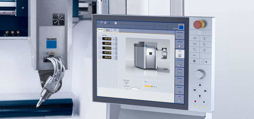 Laserbearbeitungszentrum Trumpf TrueLaser Cell 3000 Software